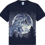 Pijama Kyly Infantil Masculino 10 ao 16 Marinho Brilha no Escuro