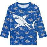 Pijama Manga Longa Kyly Bebê Masculino Tubarão Tamanho 1-2-3