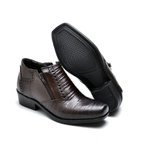 BOTA MASCULINA COUNTRY BICO QUADRADO CAFE
