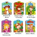 Livros infantis Histórias Clássicas Gato de Botas 6 und