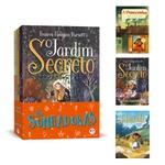 Livros infantis o jardim secreto - heidi - a princesinha 3un