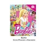 Livro infantil meninas barbie procure e encontre ilustrativo