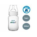 Mamadeira anti-cólica 260 ml - Transparente - Philips Avent