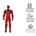 Boneco grande herói Bomber brinquedos infantis para menino