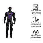 Boneco grande herói Dark Spy brinquedos infantis para menino