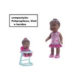 Boneca Morena My Little Collection Hora Da Papinha Divertoys