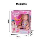 Boneca Bebê Canguru Passeando Com O Bebê 20 Cm Bambola