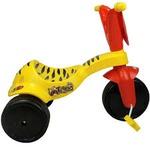 Triciclo Infantil amarelo e vermelho - Xalingo Tigrão