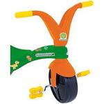 Triciclo Infantil Fofossauros Verde e Laranja Xalingo