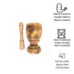 Pilão de madeira artesanal Grande
