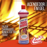 ACENDEDOR GEL FOGO NOBRE CENAP 500G