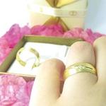Par de Alianças de Casamento Nápoles em Ouro 18k Com Diamantes