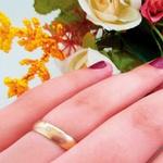 Par de Alianças de Casamento Fortaleza em Ouro 18k Com Diamante