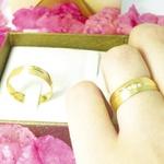 Par de Alianças de Casamento Roma em Ouro 18k com Diamante