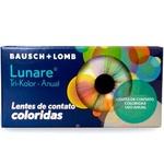 Lente Contato Lunare Anual Blue Gray