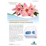 KIT MANUTENÇÃO DA PORTA / TAMPA AUTOCLAVE VT 12 LTS AZUL CRISTOFOLI