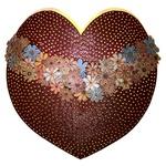 Luminária Grande de Coração para Parede