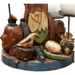 Castiçal Esculturas Coleção Toti