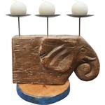 Castiçal Cabeça de Elefante 1