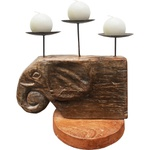 Castiçal Cabeça de Elefante 2