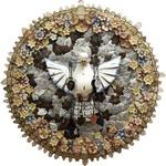 Divino Espírito Santo Mandala com Cristal 75 cm.