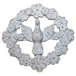 Guirlanda Divino Espírito Santo com Flores Brancas