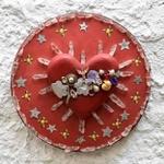 Coração Mandala com Cristais 2_ Coleção Toti