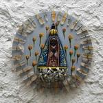 Nossa Senhora Mandala com Cristais 3_ Coleção Toti