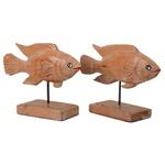 Escultura de Peixe na Base