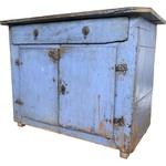 Buffet Azul Antigo