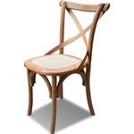 Cadeira Encosto X - Assento Trama