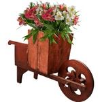 Floreira Carrinho Vermelho