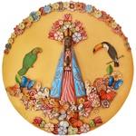 Painel Nossa Senhora - Apliques Diversos II