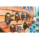 Quadro Médio Arca de Noé com Esculturas