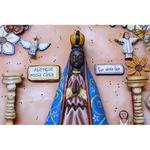 Painel Nossa Senhora - Apliques Diversos