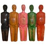 Painel Esculturas de Corpos Coloridos