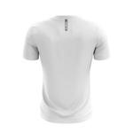 Camisa Casual Masculina Branca com listras