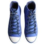 Tênis Flatform Kiara Cano Alto Azul