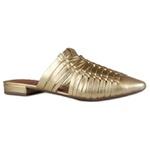 Mule Ouro Pietra | Handmade Salto 1,5 cm