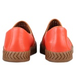Slip On Bella Laser Tressê Dark Orange