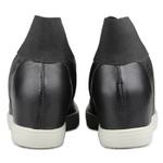 Tênis Siena Sneakers Elástico Preto Salto 4,5 Cm