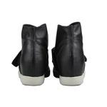 Tênis Siena Sneakers Puff Preto Salto 4,5 Cm