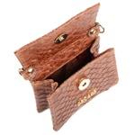 Mini Bag Estruturada Couro Cuoio