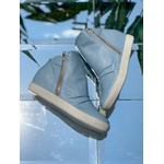 Tênis Siena Sneakers Starlight Detalhe Furinhos e Zíperes Lateral Salto 4,5 Cm