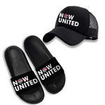 KIT BONÉ + CHINELO NOW UNITED - PRETO