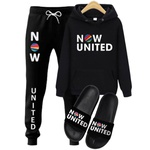 KIT NOW UNITED CALÇA + BLUSA + CHINELO - PRETO