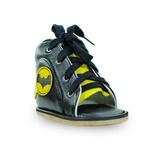 Dennis Brown heróis batman sapatilha em couro com barra de regulagem