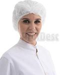 Touca Tnt Descartável Branca Protdesc Com 100 unidades