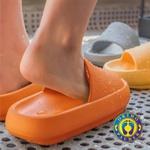 Sandália Ortopédica Fly Feet Nuvem Orthopauher Laranja