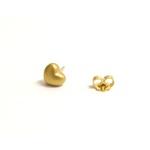 Brinco Coração Ouro 18k